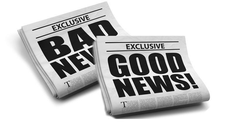 bad news good news