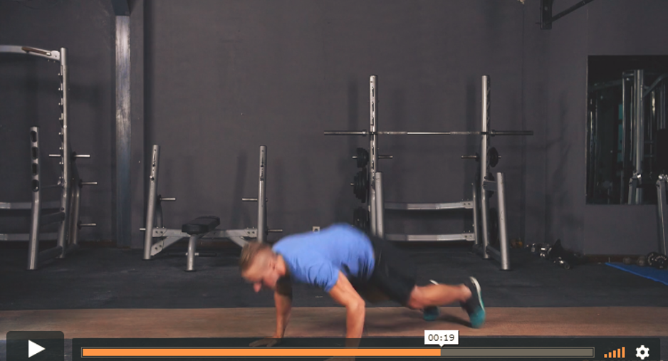 Pearland personal trainer burpees