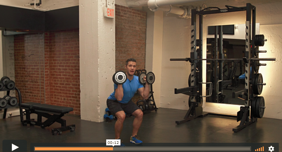 pearland personal trainer thruster