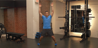 Houston personal trainer jumping jacks