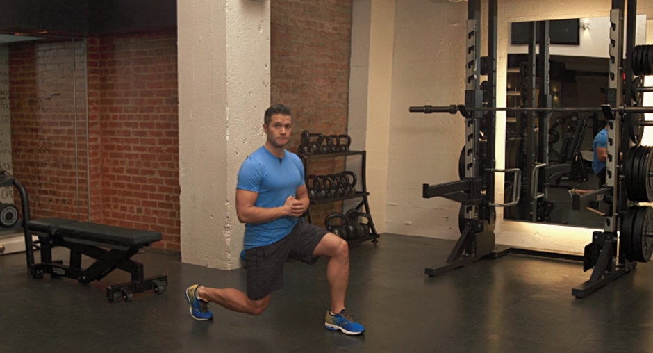 Pearland personal trainer reverse lunges